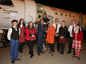 Loganair's NEW City of Derry to Glasgow International service takes flight!